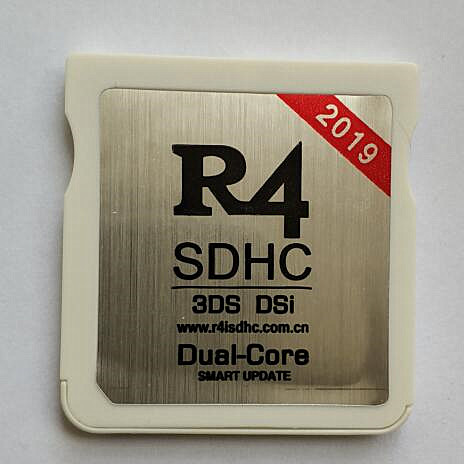 R4 SDHC Dual-Core 2019 for New 3DS /3DS V11 10/2DS/DSi/DS Lite/DS