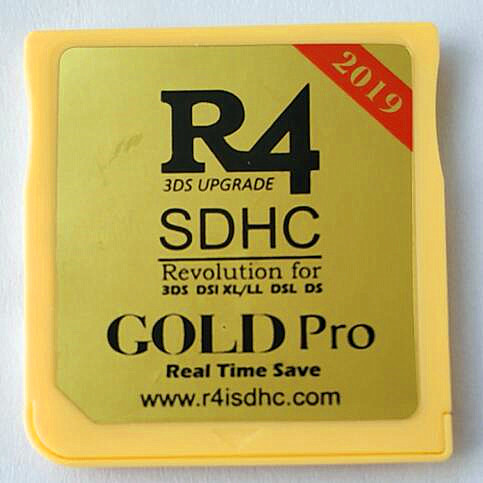 R4isdhc GOLD Pro 2019 for New 3DS /3DS v11 10/2DS/DSi/DS