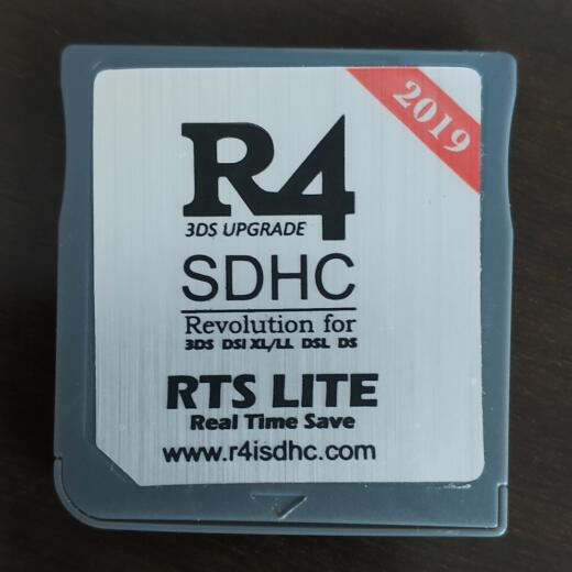 R4iSDHC RTS LITE 2019 for New 3DS /3DS v11 10/2DS/DSi/DS Lite/DS