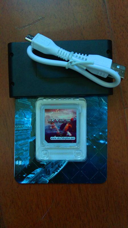 SKY3DS+ card can play 3DS games on 3DS V11 10 0-43U/E/J/K、SKY3DS+
