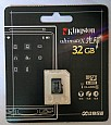 Kingston 32GB Class 10 Micro SDHC(TransFlash ) Card,