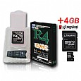 R4-SDHC + 4GB Micro SDHC Card for DS Lite,