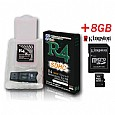R4-SDHC + 8GB Micro SDHC Card for DS Lite,