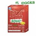 5 X R4i-SDHC V1.4.5 Card for DSi XL / DSi,