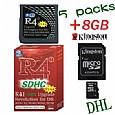 5 X (R4i-SDHC V1.4.5 + 8GB) for DSi,