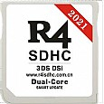 Wood R4 SDHC Dual-Core PLUS 2021 for New 3DS /3DS V11.14/2DS/DSi/DS Lite/DS,